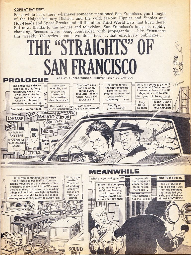 For media based on The Streets of San Francisco tv show
